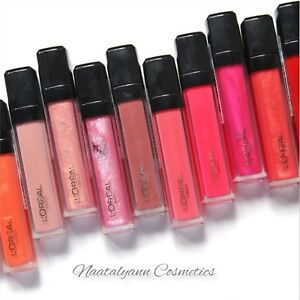 L'Oreal INFALLIBLE MEGA LIP GLOSS new season shades available NEW + FREE POST