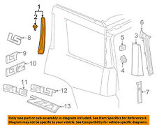GM OEM Exterior-Front Molding Right 23278858