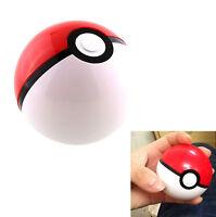 Kids Baby Toy Pokemon Pokeball Cosplay Plastic Pop-up Poke Ball Safe Toys 7cm