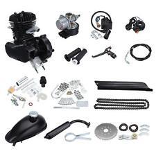80cc 2 motori a ciclo di bicicletta motori a gas motorizzati motore Engine nero