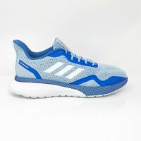 Adidas Womens Novafvse X EE9926 Blue Running Shoes Lace Up Low Top Size 9