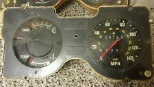 Ford consul 1972 v6 2.5 l instrument cluster / speedo.