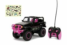 RC Vehicle Remote Control Toys Big Foot Jeep Black Teen Girl Barbie Doll Car Kid