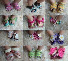 Wholesale Lot 10 Knit Crochet Cotton Newborn Baby Child Colorful Sandals Shoes