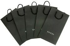 GUCCI Empty Shopping Gift Paper Bag 5P Set Black-37