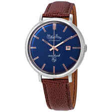 Lucien Piccard Seashark Automatic Blue Dial Men's Watch LP-18115-03
