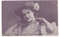 Actress Sylvia Elsie Vintage Postcard Theatre 829b