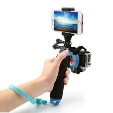 Supporto impugnatura cava galleggiante per GoPro Hero+grilletto+morsa smartphone