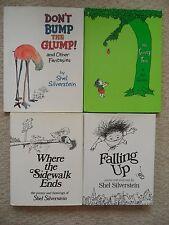 SHEL SILVERSTEIN LOT 4~Falling Up~Giving Tree~Dont Bump Glump~WHERE SIDEWALK END