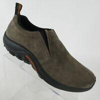 Merrell Jungle Moc Slip On Shoe Gunsmoke Grey Suede J60787 Men's Size 10