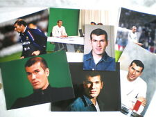 7 PHOTOS DE PRESSE ORIGINALES ZIDANE COUPE DU MONDE DE FOOT 1998 (1)