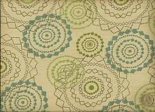 Mayer Fabrics Sunbrella Mandala Opal Modern Geometric outdoor Upholstery Fabric