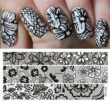Nail Art Template Stamping Image Plates Manicure Hollow Lace BP-L030