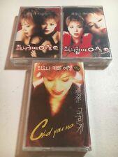 Korean Music Cassette Tape Lot Of 3 New Factory Sealed