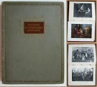 1939 Soviet Book Album RUSSIAN HISTORICAL PAINTING Stalin Propaganda Art