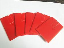 Lot 10 32GB Credit Card USB Flash Drive DIY 32G Pen Memory Stick Wholesale Bulk