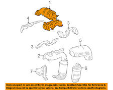 TOYOTA OEM 07-10 Sienna-Exhaust Manifold 171400P090