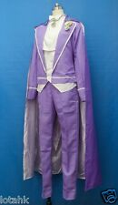 Sailor Moon Tuxedo Mask Purple Ver Cosplay Costume Custom Made  < Lotahk >