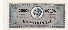 Romania 3 pcs Consecutive 1000000 lei 1947 Good Grade