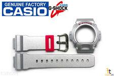 (Glossy) Band & Bezel Combo Casio G-Shock Dw-6900Cb-8W Original Grey Metallic