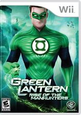 Green Lantern: Rise of the Manhunters Nintendo Wii, 2011 Superhero Video Game