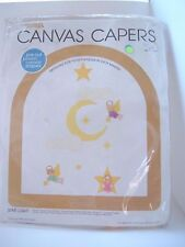 STAR LIGHT 1980 Canvas Capers Baby Mobile Plastic Canvas Kit 104 Angel Moon