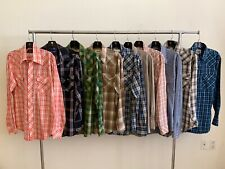 Vintage Lot Of 10 Western Shirts