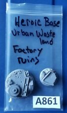40mm & 25mm Dragon Forge Heroic Bases Urban Waste Factory Ruins Scenic Bases