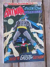 Brave and The Bold #89 Batman and The Phantom Stranger Comic Book 1970