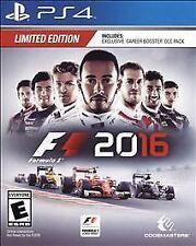 F1 2016 W/CASE Sony PlayStation 4 PS PS4 GAME FORMULA 1 FORMULA1 16 2K16