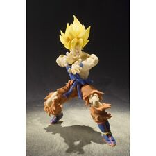 Bandai SH Figuarts Super Saiyan Son Gokou Figure Warrior Awakening Version