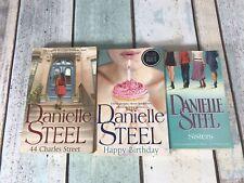 Danielle Steel book bundle Happy Birthday, Sisters, 44 Charles Street Books