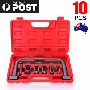 10pc Valve Spring Compressor Tool Kit for Car Motorcycle Petrol Engines Vehicle