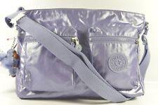 Kipling HB7242 594 Coralie GM Metallic Mist Purple Crossbody Shoulder Bag