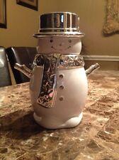 Slatkin & Co Rare 9oz Snowman Winter Scented Candle
