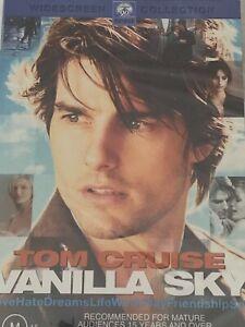 Vanilla Sky   Tom Cruise, Penélope Cruz  DVD Brand New