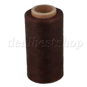 1mm 150D Leather Sewing Waxed Wax Thread Hand DIY Stitching Cord Craft Brown