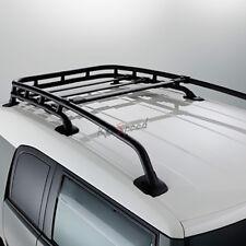 Aluminum Black OE Style Top Roof Rack Crossbar Bag Carrier for 07-14 FJ Cruiser