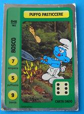 CONAD CARD PUFFI - PUFFIAMO LA NATURA - N. 048 PUFFO PASTICCERE - LUCIDA