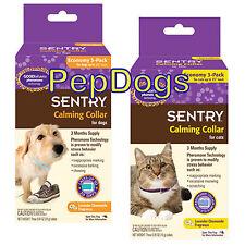 SENTRY 3 MONTHS Good Behavior Pheromone Calming Dog Cat Collar Anxiety Stress