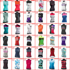 Womens bike sleeveless Jersey Cycling vest Bicycle Shirt 2020 Summer Racing Tops