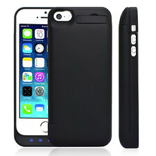 NEW 4500MAH BACKUP BATTERY CHARGER EXTENDED POWER CASE COVER BLACK FOR IPHONE 5