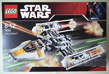 Lego: Star Wars (7658) Y-Wing Fighter [Complete w/ Figures, Instructions & Box]
