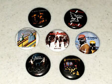 7 Buttons 1 Inch Pin Black Sabbath Ozzy Later Years Album Covers Sold - Lot B