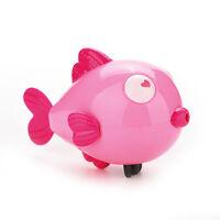 Wind-Up Clockwork Bath Toys Animals Kiss Fish Baby Shower Swimming Kids  _gu