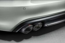 original Audi S6 S7 sportabgasanlage AKRAPOVIC PAQUETE COMPLETO TITANIO Aga Audi