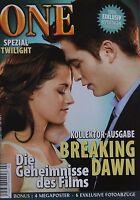 BREAKING DAWN - ONE Magazin 02/2011 + XXL Poster - Twilight Clippings Sammlung