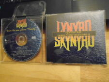 RARE PROMO Lynyrd Skynyrd CD Travelin' Man +1 JOHNNY VAN ZANT Outlaws TWENTY !