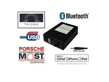 PORSCHE 911,Boxter, PCM 2.0 / 2.1, MOST USB MP3 AUX Bluetooth Interface TRIOMA