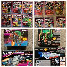GI Joe Star Brigade Collection - 12 MOC Figures & StarFighter & Invader MISB NEW